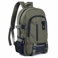 Classic Design Large Capacity Casual Backpack Travel Vintage Nylon Laptop Bag
