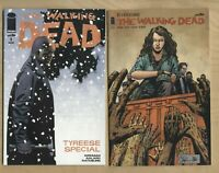 THE WALKING DEAD #1 SPECIAL & 127 1st Print  Comic Image Robert Kirkman  NM