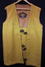 Vintage CORTEFIEL Mustard Yellow Removable Coat Liner Size 36-B48