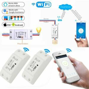 Wifi WLAN Switch Smart Schalter für Amazon Alexa/Google Home APP-Steuerung 2200W