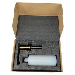 VIGO VGSD003MG Kitchen Sink Soap Dispenser in Brushed Matte Gold Finish - NOB