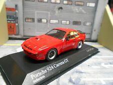PORSCHE 924 Carrera GT 1981 red rot  Minichamps RAR 1:43