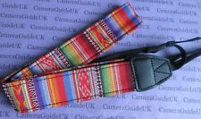 Camera Shoulder Strap Neck Vintage For DSLR Canon, Nikon, Sony, Pentax, Olympus