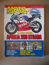 MOTOSPRINT n°23 1993  TEST CAGIVA W12 350  [MS9]
