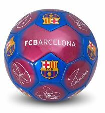 FC Barcelona Signature Ball Size 5 Messi! Iniesta! wonderful Gift for your child