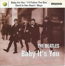 "The Beatles- Baby it's you, 7"" EP  4 songs 1995, mono John,Paul,George & Ringo"