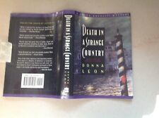Donna Leon: Second Novel First Printing 1993 With Dj; Fine/Fine