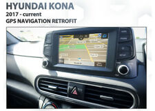 Hyundai KONA Go Original audio integration - Sat Nav retrofit pack