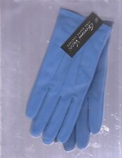 NEW LADIES VECCI LIGHT BLUE NAPPA LEATHER GLOVES (SIZE SMALL/MEDIUM/LINED)