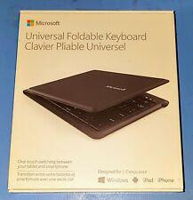 Microsoft Universal Foldable Keyboard, complete in box.