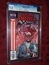 Captain America #10 CGC 9.8         Ed Brubaker
