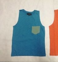 NEW Boys Cotton Vest Top T-Shirt Sleeveless Summer Casual Wear Age 6 - 15