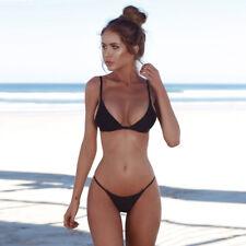 Women Sexy Bandage Bikini Set Push-Up Bra Brazilian Swimwear Beachwear Swim CA