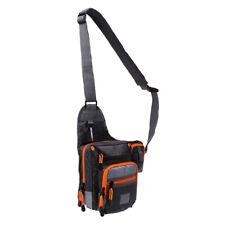Waterproof Fishing Tackle Bag Shoulder Sling Bag Sports Crossbody Bags