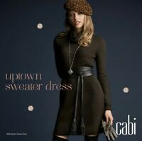 Cabi #3665 Uptown Sweater Dress, Size Small, Limited Edition