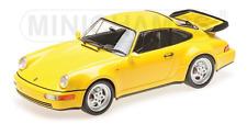 Porsche 911 Turbo (964) 1990 gelb 1:18 Minichamps 155069100 neu & OVP