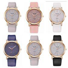 Womens Ladies Watches Wrist Watch Snow Analogue Quartz Fashion Leather Strap