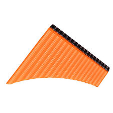 18 Pipe Pan Flute Panpipes C Key Pan Pipes with Mouthpiece for Beginners Z7S5