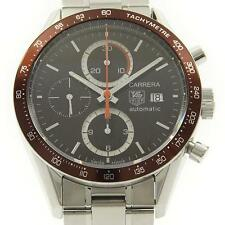 Authentic Tag Heuer CV2013 Carrera Tachymeter Chrono Automatic  #260-001-798-...