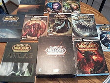 WORLD OF WARCRAFT Blizzard Strategy Guide Atlas Dungeon Cataclysm Lich King WoW