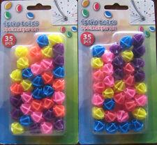 70 Stück Fahrradspeichenperlen Speichenperlen Lustig und Bunt 70 Stück Perlen*