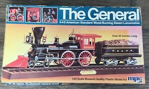 1980 MPC American Standard Wood Burning steam locomotive 4-4-0 MODEL The General
