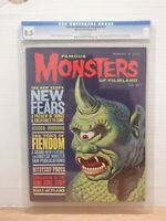 Famous Monsters of Filmland 27 1964 NO CASE CGC 8.5 Comic Magazine 060220DBT