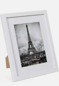 Upsimples 8x10 Picture Frame Set(10),Display Pictures 5x7 with White Finish
