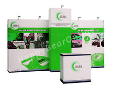 Trade Show Fabric Display Exhibition Booth A1 20ft (Graphics included)