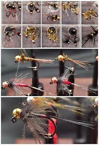 Fliegenbox mit 30 Jig's - alle mit Tungsten Beads