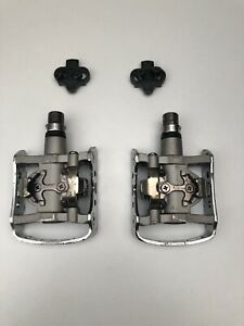 Shimano PD-M324 SPD Clipless Mountain Bike Touring Pedals + SM-SH51 Cleats