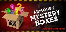 Armoury Mixed Box chosen from a range of machetes, knives, sword, tactical gear