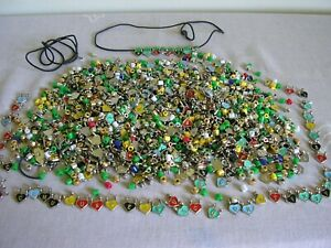 Mixed job lot of charms / beads etc for jewellery making / crafting