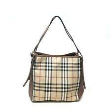 Burberry 39393771 The Small Canter Horseferry Check Tote Honey/Tan Women's Bag