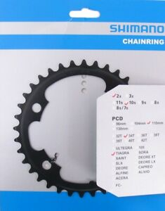 New Boxed Shimano Tiagra 4700 34t Compact Chainring / Chainset Part / Road Bike