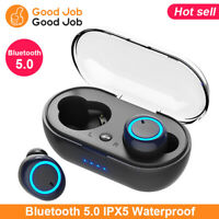 Bluetooth 5.0 Headset Wireless Earphones Mini Stereo Headphones Earbuds TWS-S6 K