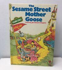 SESAME STREET MOTHER GOOSE: A POP-UP BOOK - Hardcover 1976 Jim Henson Muppets