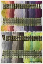 NEW RANGE DMC thread stranded cotton floss 35 colours  Choose quantity & colours