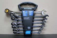 Maximum 7-piece Indexing Ratcheting Wrench Set