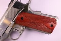 Colt 1911 grips full size and clones,Handmade Hardwood, New, Thailand