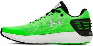 Under Armour Boy's Charged Rogue Sneaker, Zap Green/White, 4.5 M Big Kid US