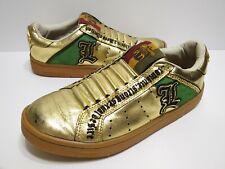 Royal Elastics LOVE GOLD Men's Size 8 Shoes Raja Gwen Stefani Rare