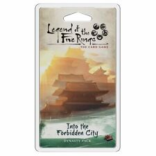 Legend of the Five Rings LCG Into the Forbidden City Card Game