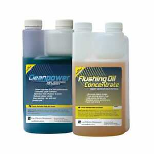 Flushing Oil Concentrate & Cleanpower Value Pack
