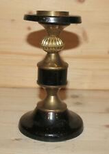 Vintage metal candle holder candlestick