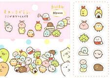 ~ * New San-x Sumikko Gurashi 80pcs 10 Design Sticker Sack Pack Japan*~ Free Shp