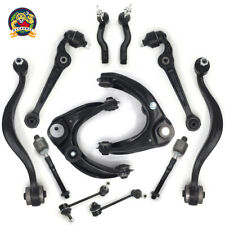 For Mazda 6 12pc Front Upper Lower Control Arms Tie Rods Sway Bar Suspension Kit