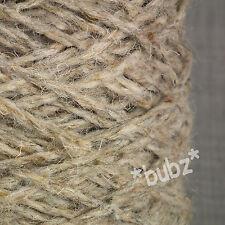 BERBER RUG MAKING WOOL SHINGLE TWEED 400g CONE LATCH HOOK CARPET WEAVE YARN BB15