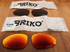 NOS Briko Stinger (Pantani sunglasses) pair lenses HPS Spectrum Red and Thrama
