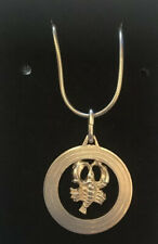 Sterling Silver Chain And Scorpion Pendant - 16 Inch Length - Wear Not Scrap
